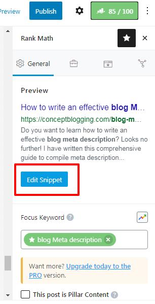 How to write an effective blog description?
