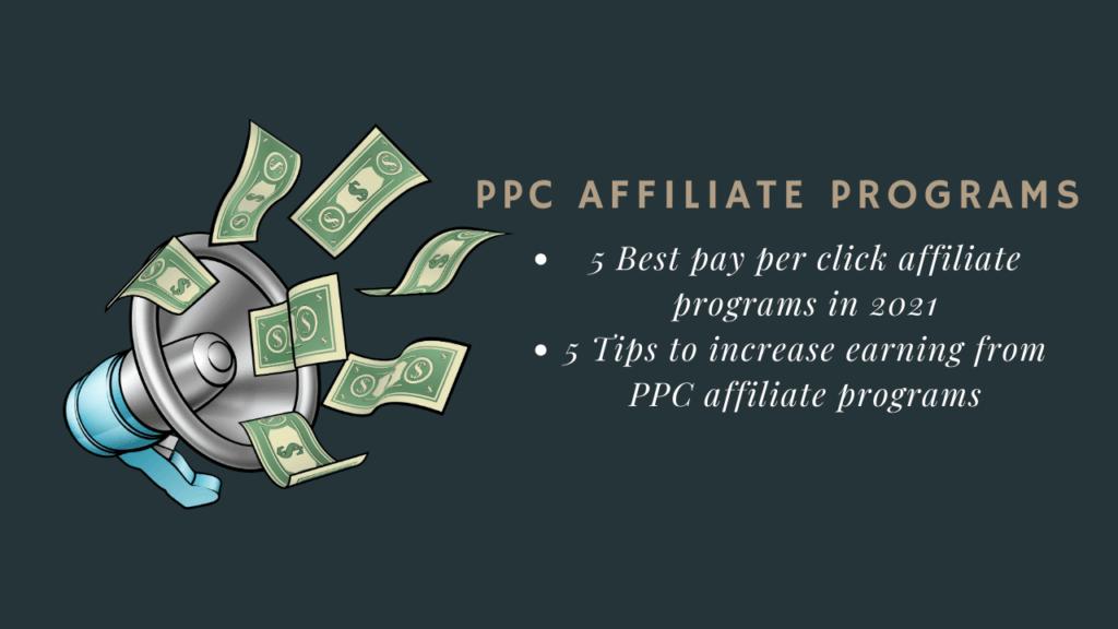 pay per click affiliate programs